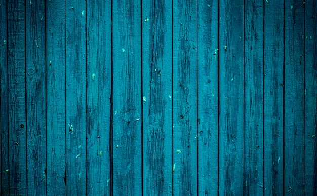 Tablero de madera azul viejo. hermoso fondo Foto gratis