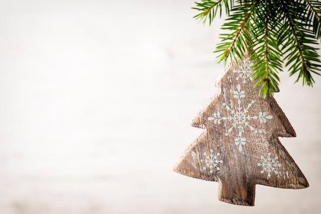 Tarjeta de felicitación de navidad. Foto Premium