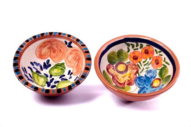 Tazones de sopa Foto Premium