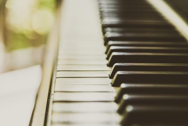 Tecla de piano Foto gratis
