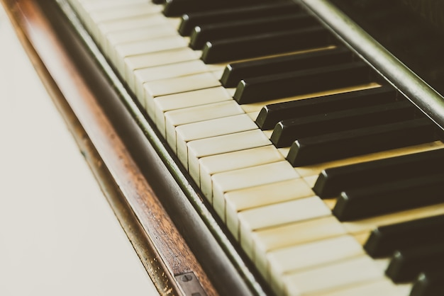 Tecla del piano Foto gratis