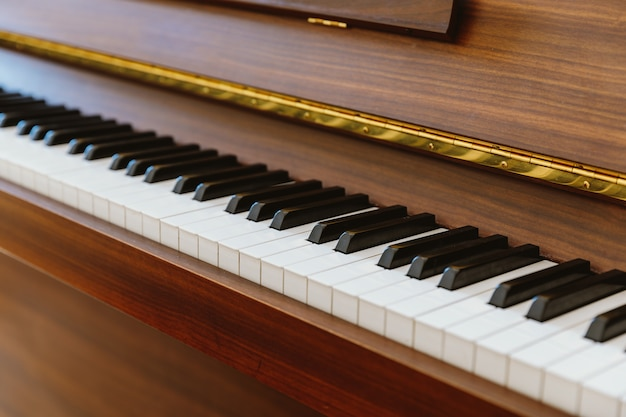 Teclas del piano Foto Premium