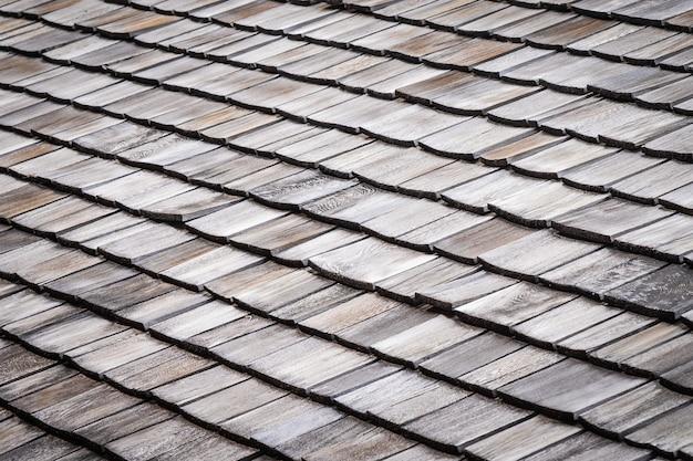 Teja en el techo de la casa o texturas caseras Foto gratis