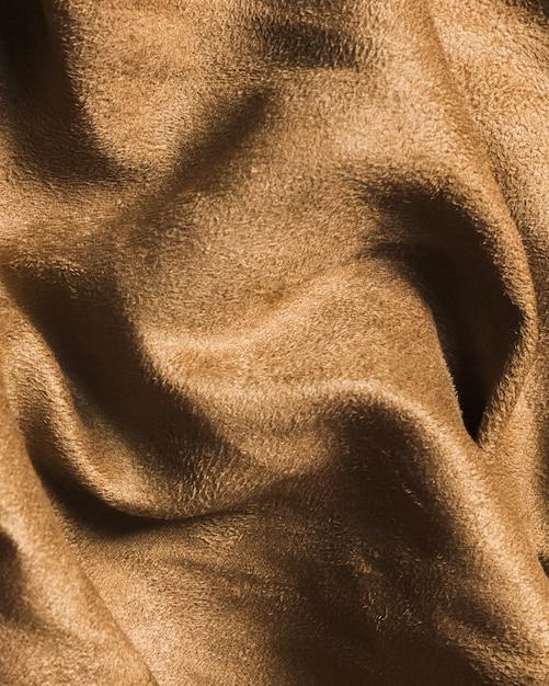 Tejido de seda arena marrón material para decoración del hogar Foto gratis