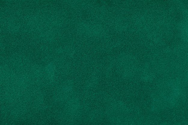 Tela de gamuza mate verde oscuro textura de terciopelo, Foto Premium
