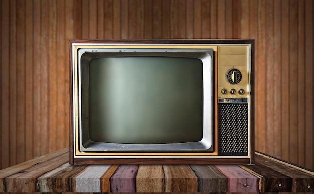Televisión vintage | Foto Premium