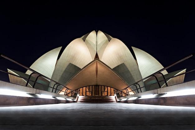 Templo del loto Foto Premium