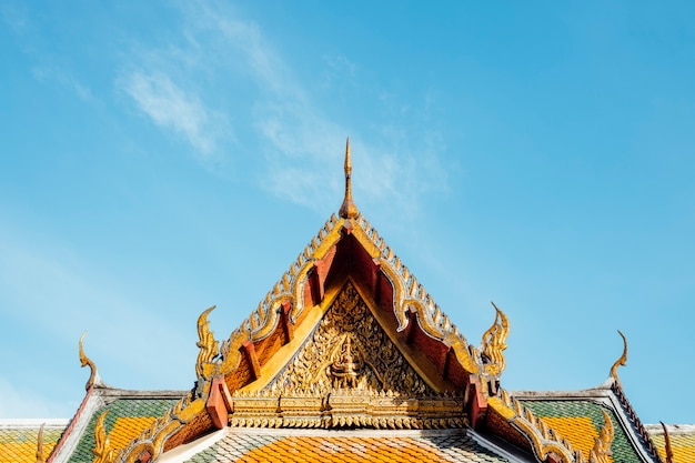 Templo de wat suthat thepwararam en tailandia tailandia Foto gratis