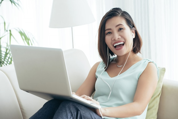 Tener clase en línea Foto gratis