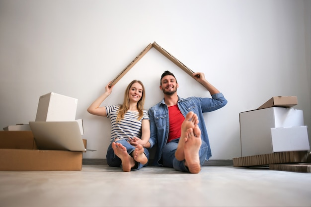 Tener un nuevo hogar Foto Premium