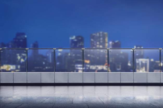 Terraza Vacía Del Moderno Edificio De Oficinas Descargar
