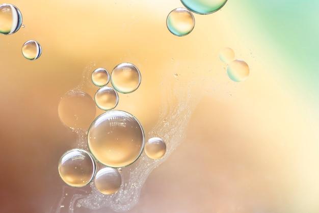 Textura de burbujas abstracta Foto gratis