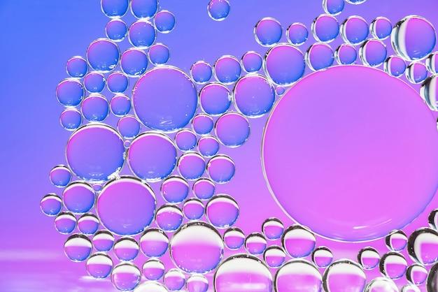 Textura de burbujas violeta y púrpura abstracta Foto gratis