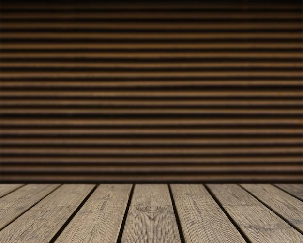 Textura de madera mirando hacia muro marr n de rayas - Muro de madera ...