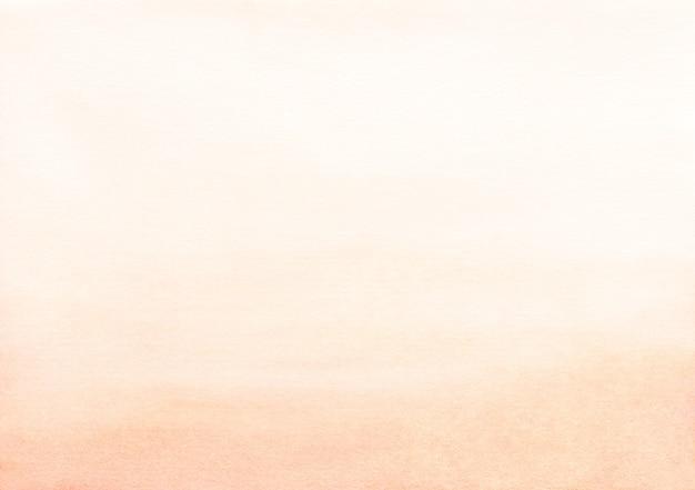 Textura de fondo de color melocotón claro acuarela Foto Premium