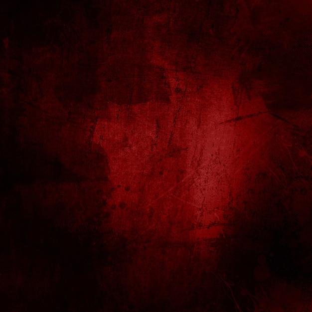 Textura grunge roja Foto gratis