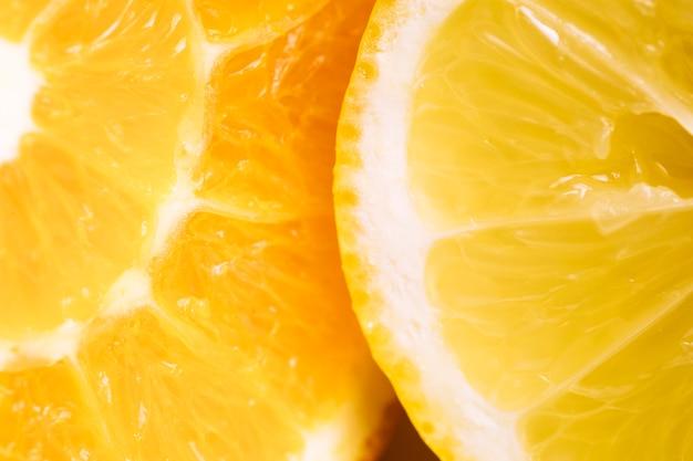 Textura macro de naranja Foto gratis