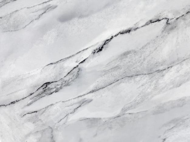 Textura de mármol blanco con patrón natural. fondo de piedra gris. Foto Premium