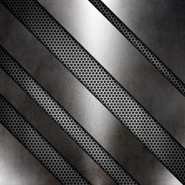 Textura metalica abstracta Foto gratis