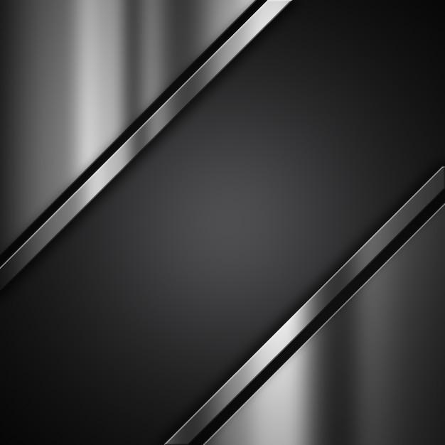 Textura metálica con líneas Foto gratis
