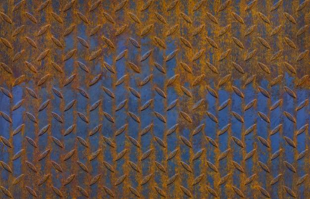 Textura de la placa de metal de diamante negro, patrón sin fin Foto Premium