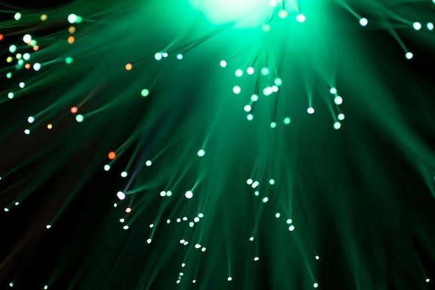 Tonos gren de canales de fibra brillante Foto gratis