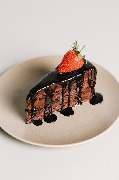 Torta deliciosa Foto gratis