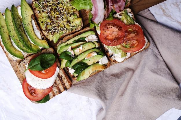 Tostadas deliciosas Foto gratis