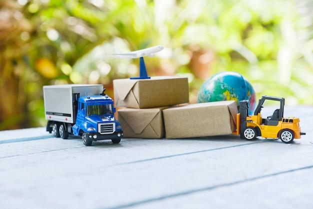 Transporte logístico Foto Premium