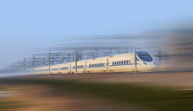 Tren rápido Foto gratis