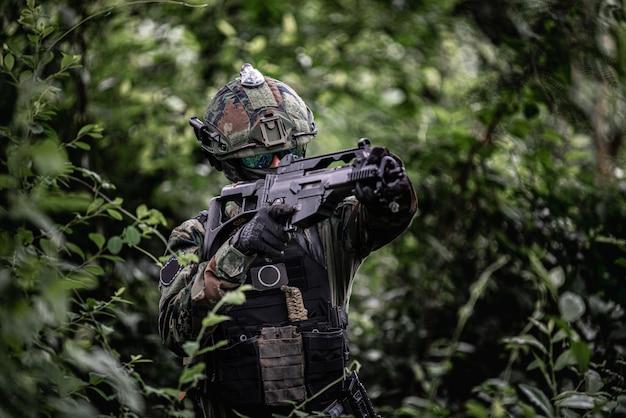 Uniforme de soldado Foto Premium