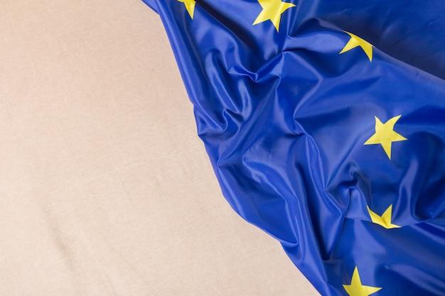 Unión europea bandera de la ue Foto Premium