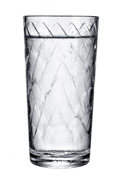 Vaso con agua fresca Foto Premium
