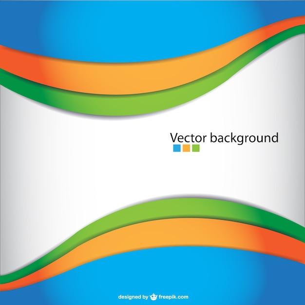 Vector abstracto ondulado | Descargar Vectores gratis
