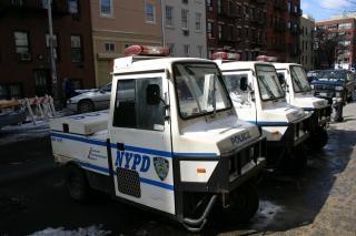 vehículo de patrulla de policía de Nueva York, policía Foto Gratis