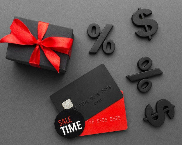 Venta de cyber monday tarjetas de crédito Foto gratis