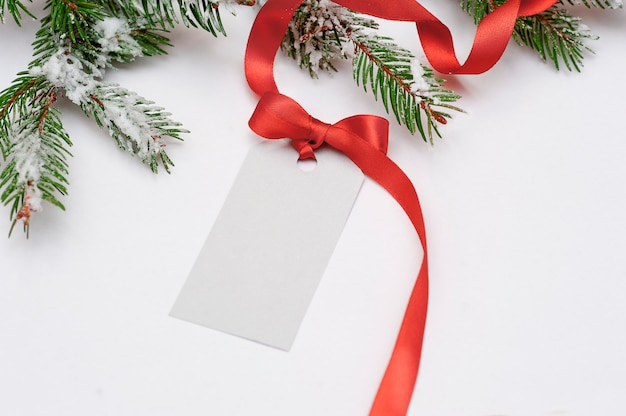 Venta De Tarjetas De Invitación Para Navidad Con Lazo Rojo