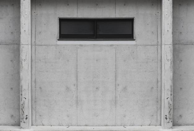 Ventana de glss en fondo envejecido del muro de cemento del cemento. para cualquier trabajo de diseño vintage. Foto Premium