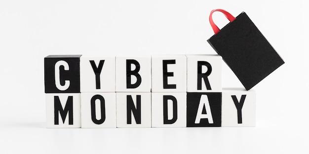 Ventas de cyber monday shopping Foto gratis