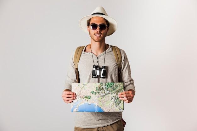 Hipster Y Con Sol MapaDescargar De Viajero Fotos Gratis Gafas On0kN8wXP