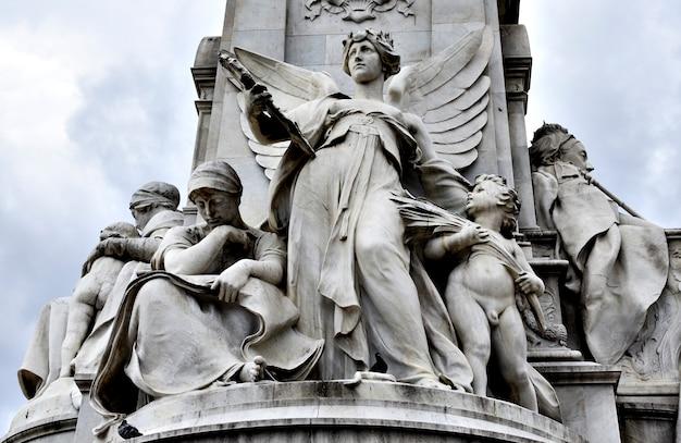 Victoria memorial, londres Foto Premium