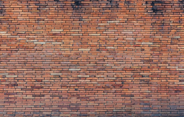 Vieja pared de ladrillo rojo Foto Premium
