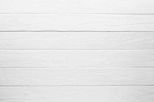 Viejo fondo de madera blanco vintage Foto Premium