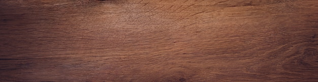 Viejo tablón de madera de roble. banner de fondo de textura Foto Premium
