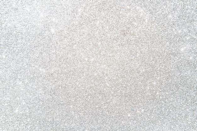 Vista de ángulo alto de fondo de brillo de plata brillante Foto gratis