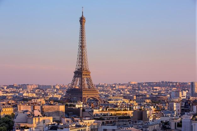 Vista de parís en francia Foto Premium