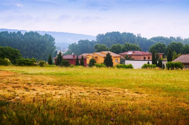 Vista rural. cataluña, españa Foto gratis