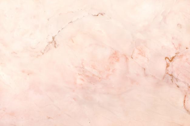 Vista superior del fondo de textura de mármol de oro rosa, piso de piedra de baldosas naturales Foto Premium
