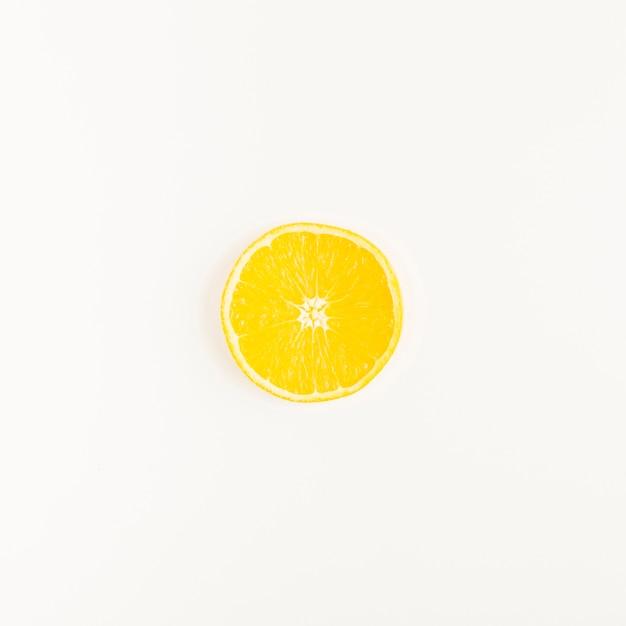 Vista superior limón Foto Premium