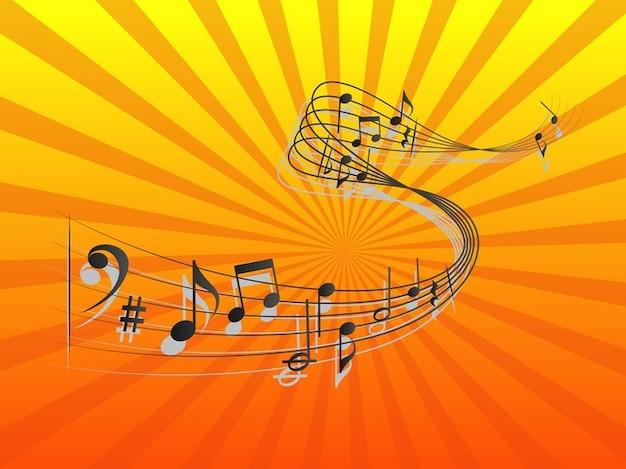 Foto Nota Musical ~ Vivir Musical concierto notas vector Descargar Fotos gratis
